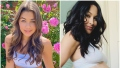 Bachelor COntestant Hannah Ann Sluss Wears Periwinkle Sports Bra and Pants Brie Bella Shows Baby Bump in White Underwear