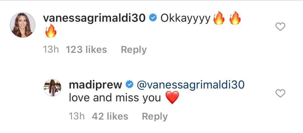 Vanessa Grimaldi Sends Love to Madison Prewett Amid Nick Viall Drama