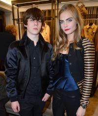 Jake Bugg and Cara Delevingne
