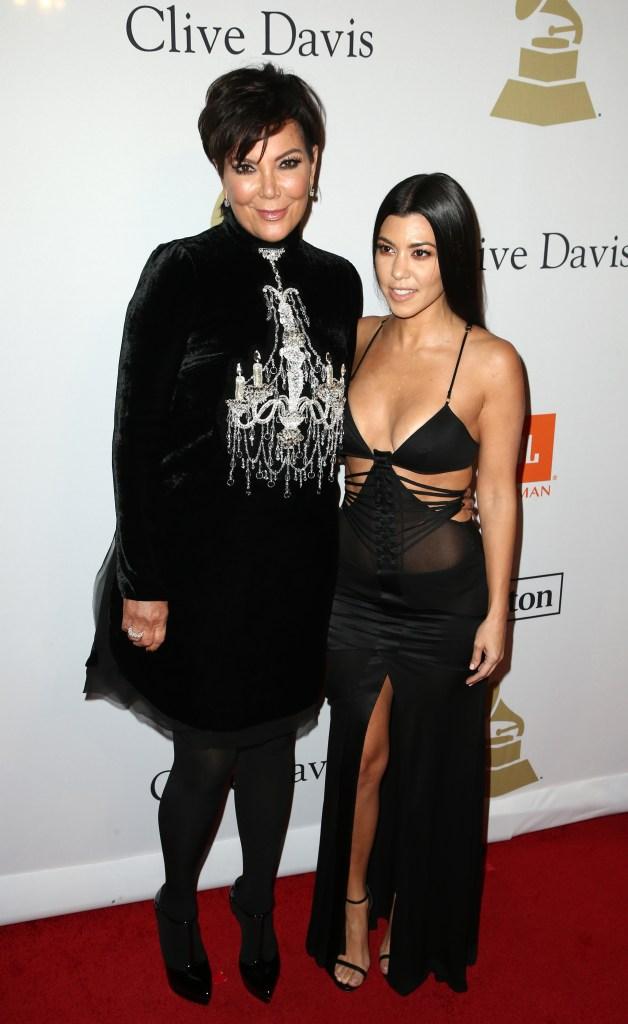 Kris Jenner and Kourtney Kardashian