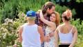 Modern Family Actress Ariel Winter Wears Flowered Dress and Hugs Boyfriend Luke Benward on His Birthday