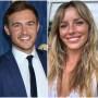 Bachelor Peter Weber Wears Blue Suit Ex Girlfriend Calee Lutes Smiles in Tank Top