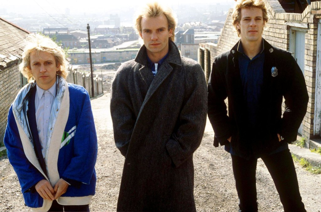 Andy Summers Sting and Stewart Copeland of The Police in 1980 REELZ Music Series Profiles the Breakup of The Police