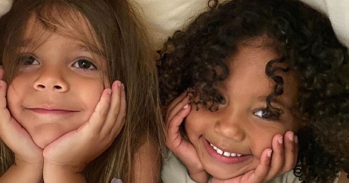 BFF Goals! Kim Kardashian Shares Adorable Photo of Saint and Reign