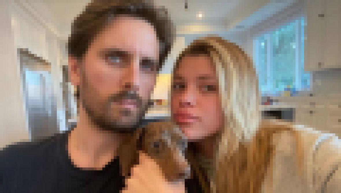 Scott Disick, Sofia Richie Split Clues