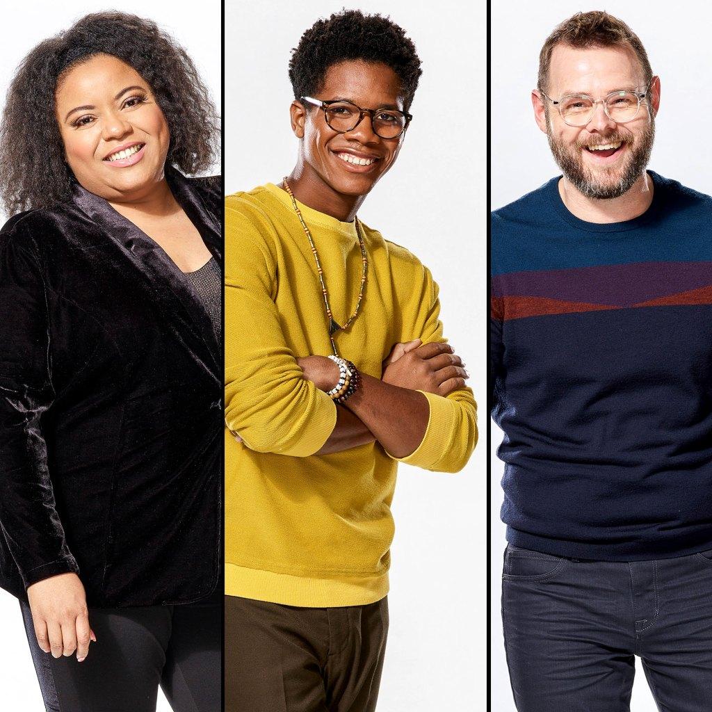 Toneisha Harris, Thunderstorm Artis, Todd Tilghman The Voice