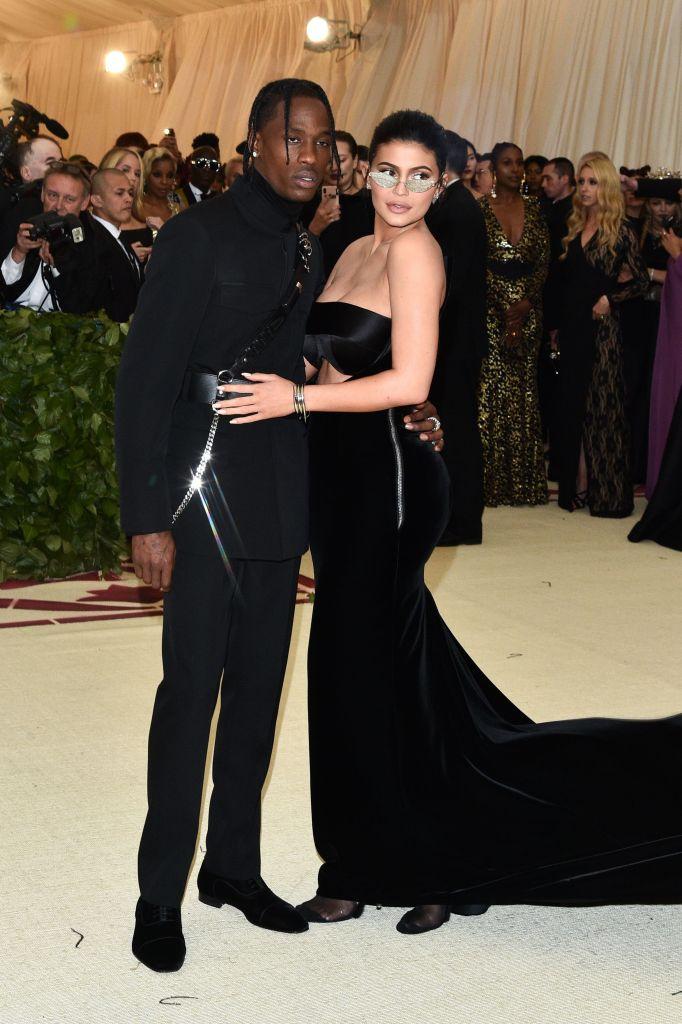 Travis Scott and Kylie Jenner 2018 Met Gala