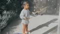 True Thompson Blowing Bubbles