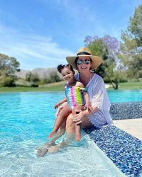True Thompson and Kris Jenner