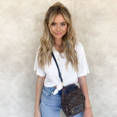 Bachelor Nation Alum Amanda Stanton Smiles in Jeans and a White Tshirt After Going to the Salon Amid COVID 19