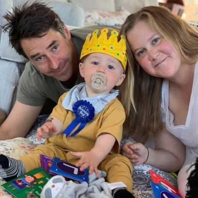 amy-schumer-son gene-first-birthday-at-home