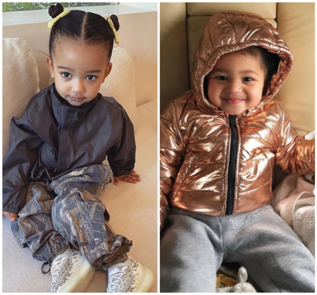 Chicago West and Stormi Webster talk in cute video