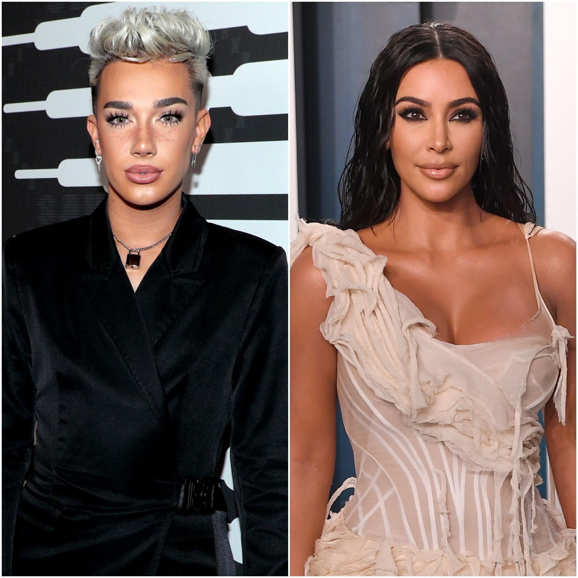 James Charles Teases Kim Kardashian Over Assless Chaps