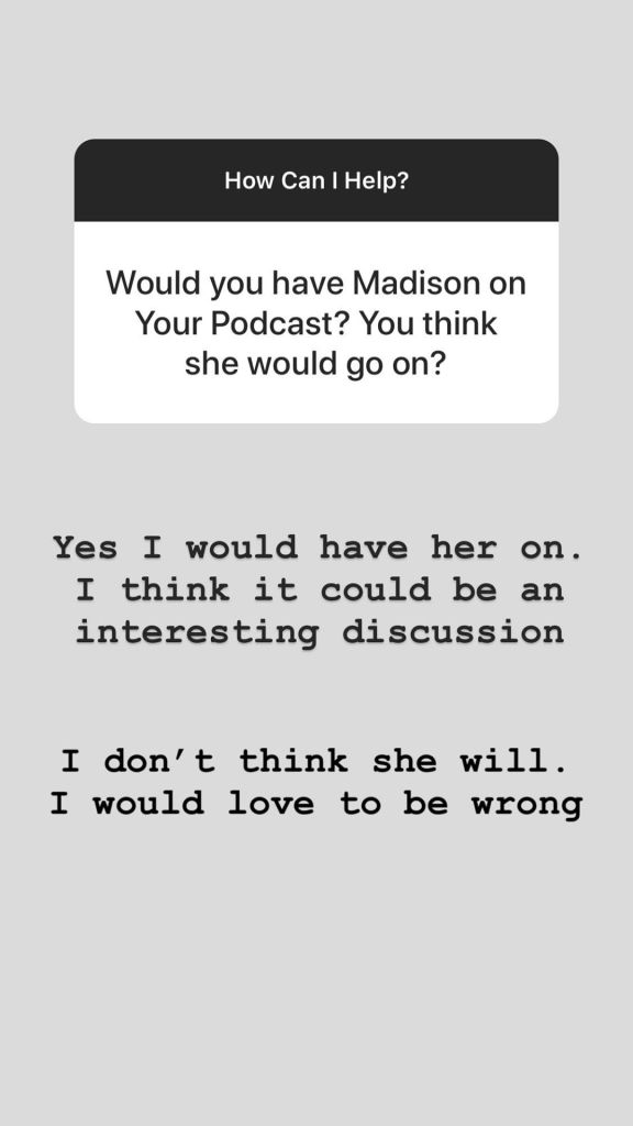Nick Viall Says He Would Have Madison Prewett on His Podcast Amid Drama