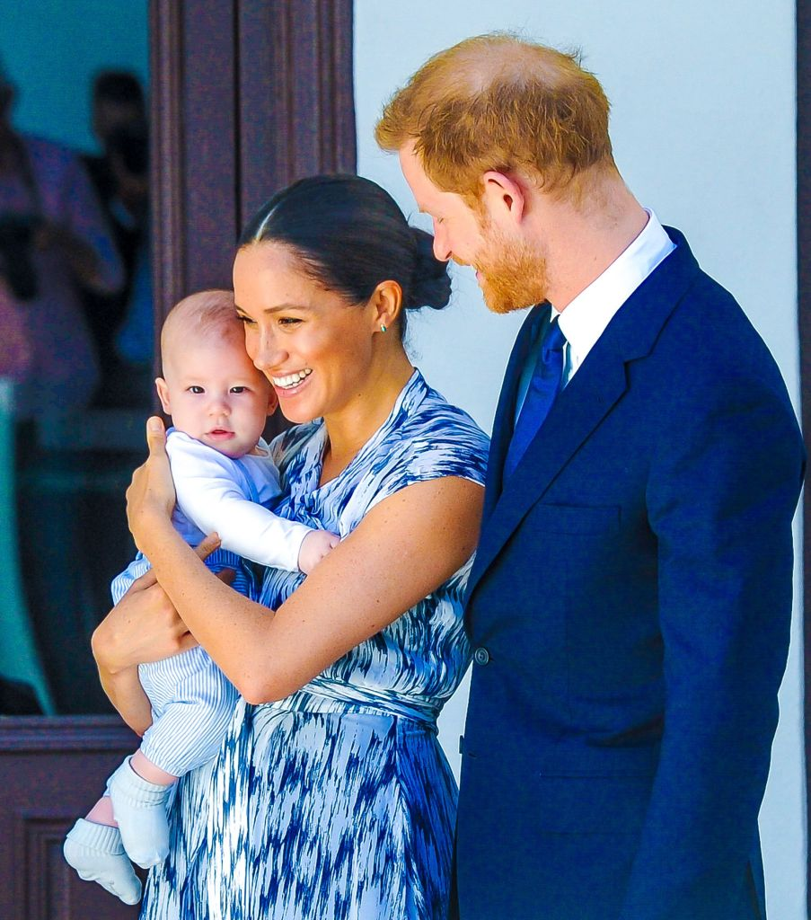 Meghan Markle Smiles With Prince Harry and Baby Archie