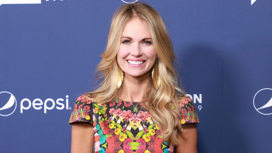 Southern Charm Cameran Eubanks Smiles in Patterned Dress