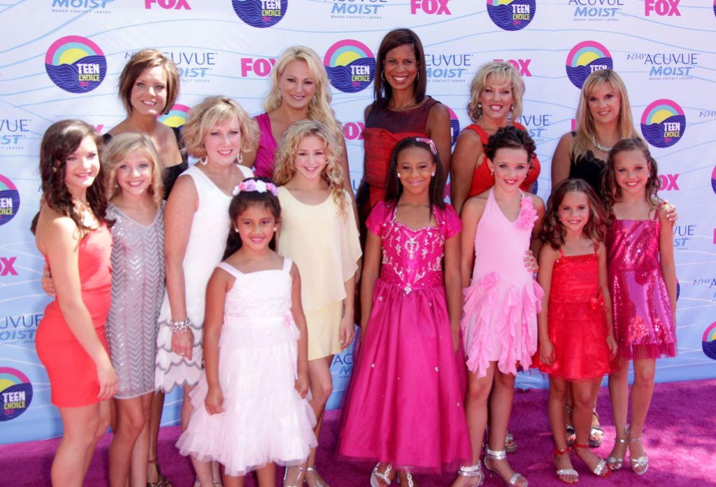 Dance Moms Cast 2012 Teen Choice Awards, Los Angeles, America - 22 Jul 2012