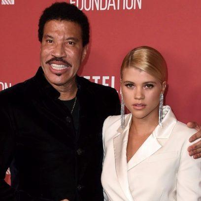 Sofia Richie and Father Lionel Richie