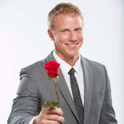 Bachelor Sean Lowe Holds Rose for Season 17