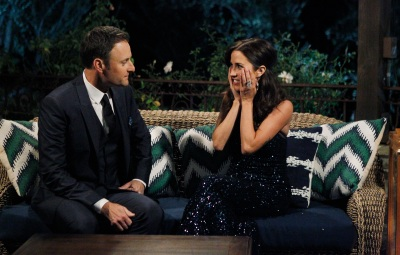 Bachelorette Kaitlyn Bristowe and Chris Harrison During Season 11