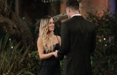 Bachelor Ben Higgins and Amanda Stanton on Night 1 The Bachelor Limo Entrance