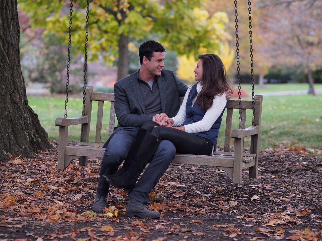 Bachelor Ben Higgins and Caila Quinn on Date During Season 20