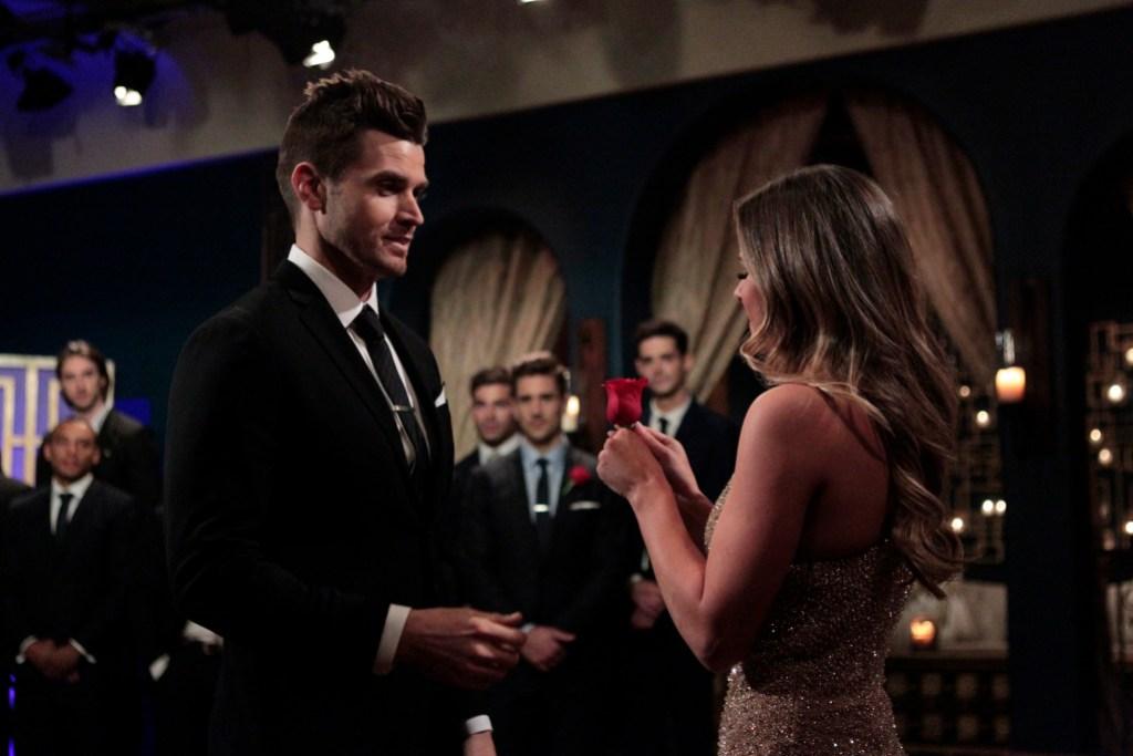 JoJo Fletcher Gives Luke Pell a Rose on Bachelorette