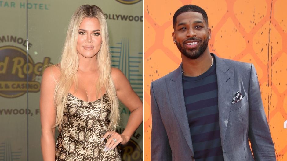 Side-by-Side Photos of Khloe Kardashian and Tristan Thompson