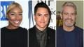 Bravo Stars Nene Leakes Tom Sandoval and Andy Cohen