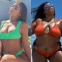Celebrities in Bikinis and Swimsuits