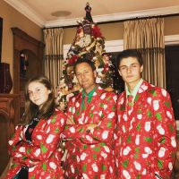 Chris Harrison and His Kids