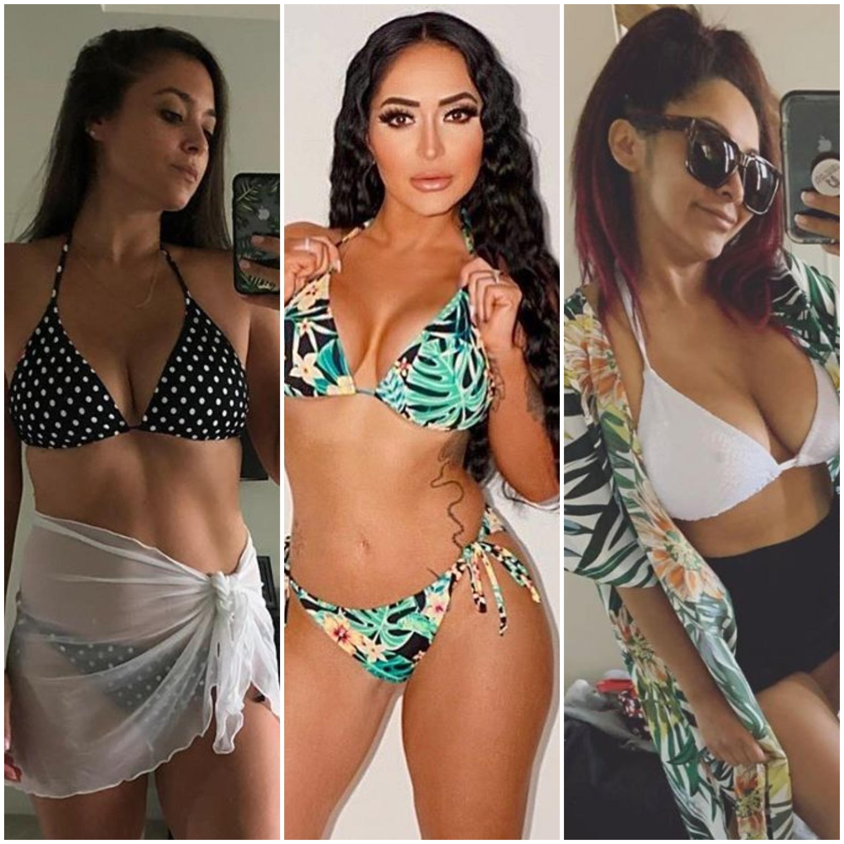 Jersey Shore's Hottest Bikini Photos: Snooki, JWoww, Deena and More