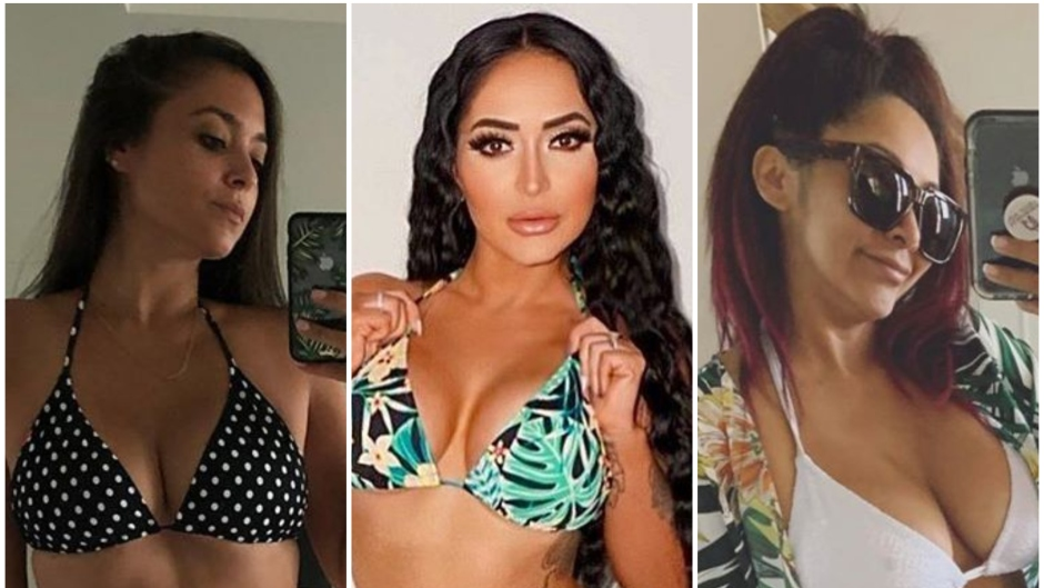 Jersey Shore Stars Sammi Angelina and Snooki in Bikinis