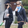 Katherine Schwarzenegger Walks With Mom and Shows Off Baby Bump