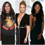 Vanderpump Rules Star Katie Maloney Wears New York Sweatshirt and Long Skirt Stassie Schroeder Wears Hair Up With Black Dress and Diamond Detailing Faith Stowers Wears Black Cutout Dress