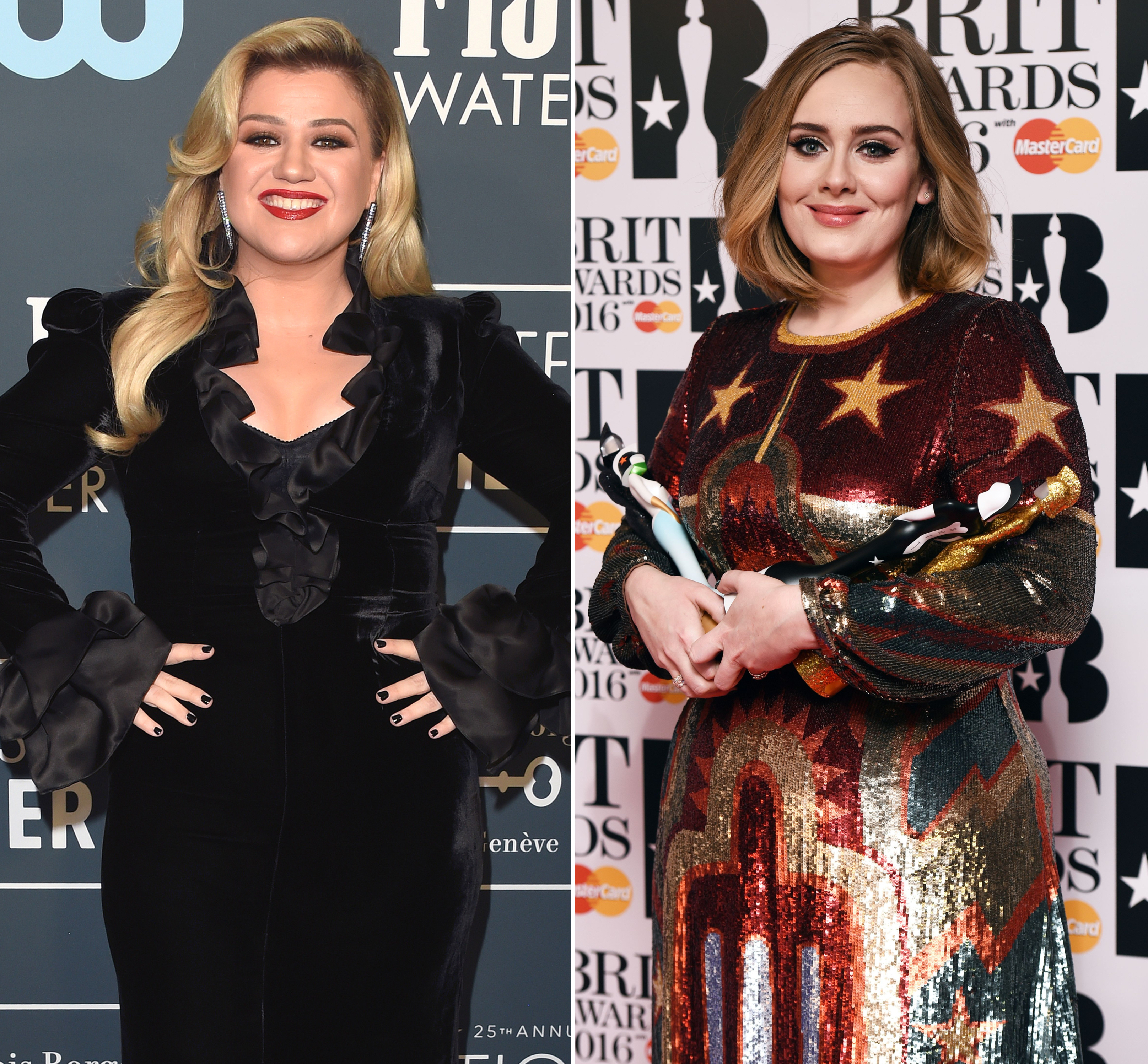 Kelly Clarkson Reacts To Adele S Weight Loss And Pressure To Be Thin