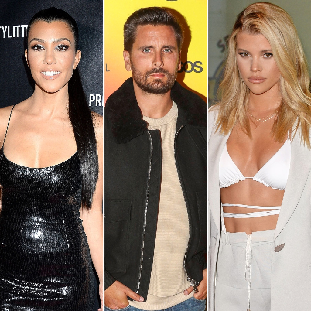 Kourtney Kardashian and Scott Disick Enjoy a Family Dinner Together After His Split From Sofia Richie