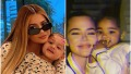 Kylie Jenner and Khloe Kardashian Twinning With Their Kids