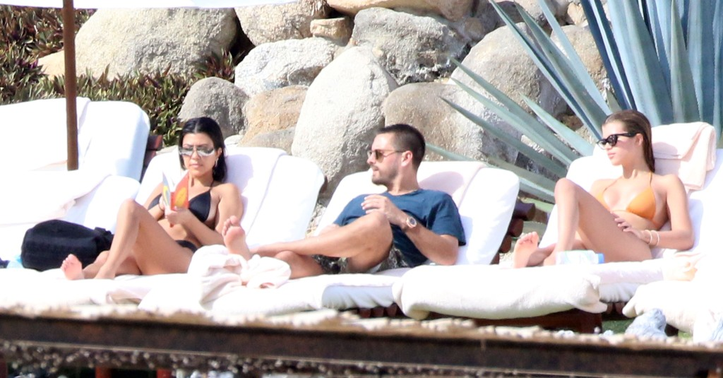 Kourtney Kardashian Scott Disick and Sofia Richie Vacation in Mexico