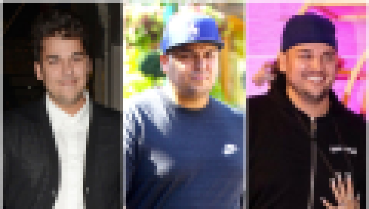 Rob Kardashian Weight Loss Transformation Photos of Weight Loss and Gain Through the Years