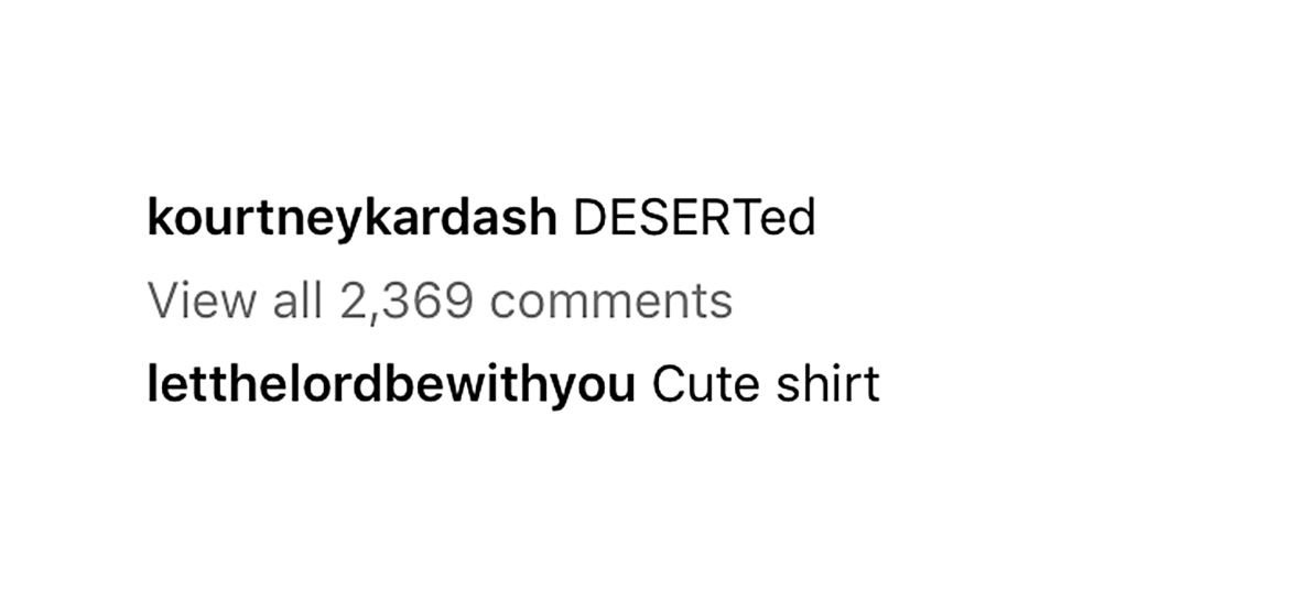 Scott Disick Leaves Flirty Comment Kourtney Kardashian Photo Amid Reconciliation Rumors