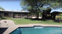 Bachelor Arie Luyendyk and Lauren Burnham House Tour Pool and Backyard