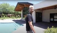 Bachelor Arie Luyendyk and Lauren Burnham House Tour Pool