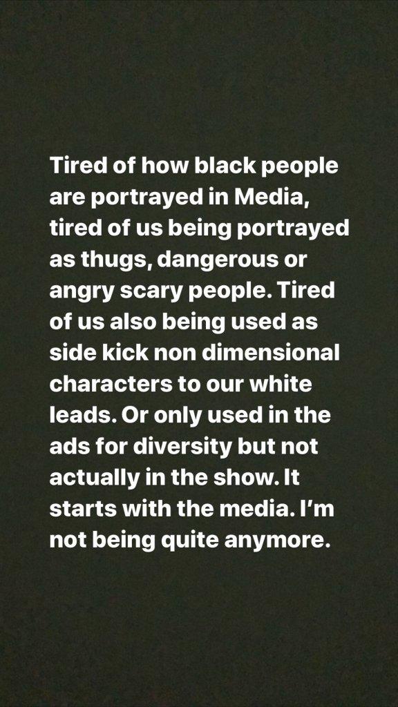 Vanessa Morgan Statement