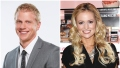 Sean Lowe Bachelor Headshot Bachelorette Emily Maynard Smiles in Black Dress