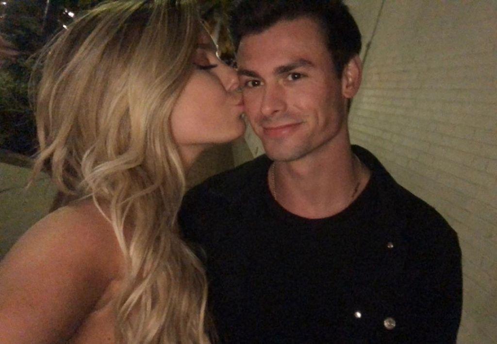 Siesta Key Garrett Miller and Carli Mauer Kissing