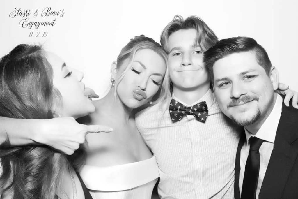 Stassi Schroeder and Brother Nikolai Pose in Wedding Photobooth Pic