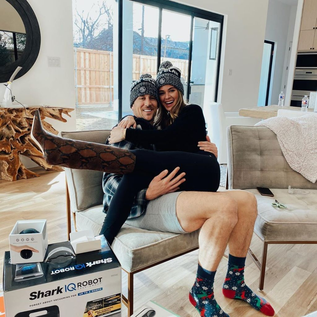 Bachelorette JoJo Fletcher and Jordan Rodgers Sit in Their New Home