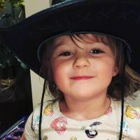 Kelly Clarkson's Daughter River Rose Wears Cowboy Hat