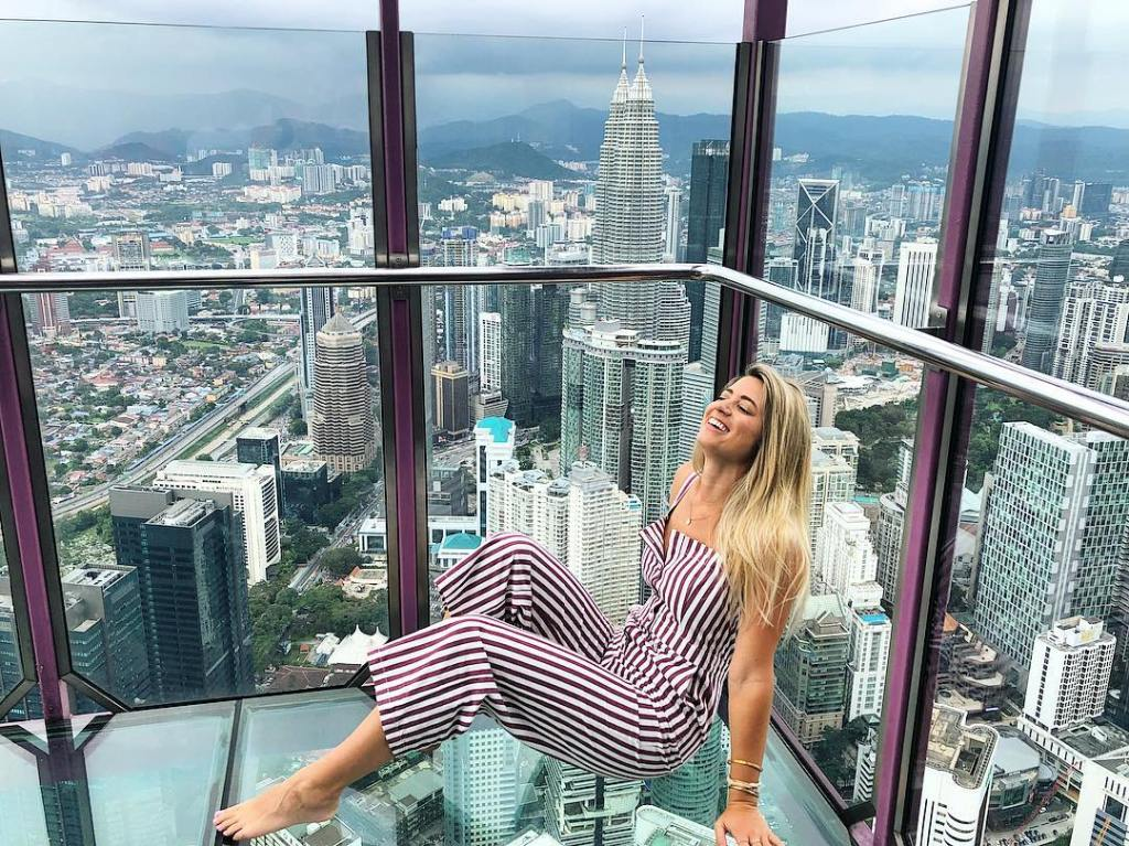 Lesley Murphy in Malaysia